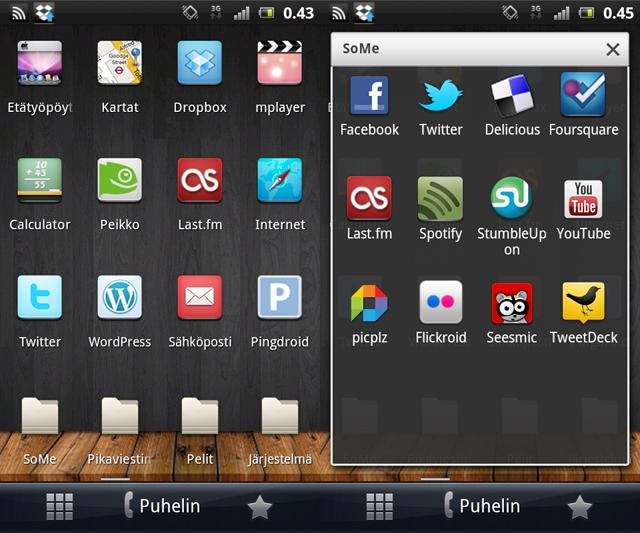 Android-kuvankaappaus