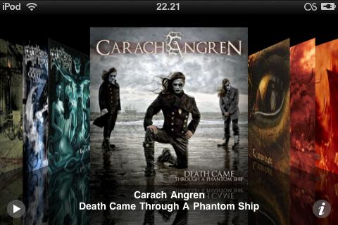 Kuvankaappaus iPod Touchin ruudulta