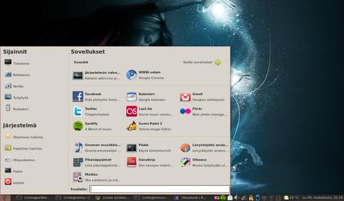 Kuva Linux Mint -käyttöjärjestelmästä