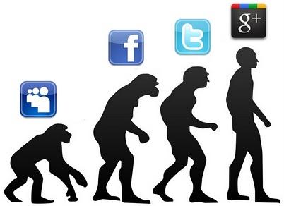 Sosiaalisen median evoluutio