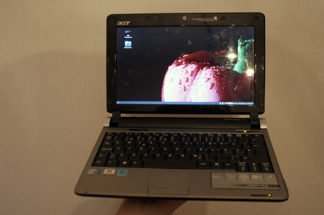Kuva Acer Aspire One D250:stä