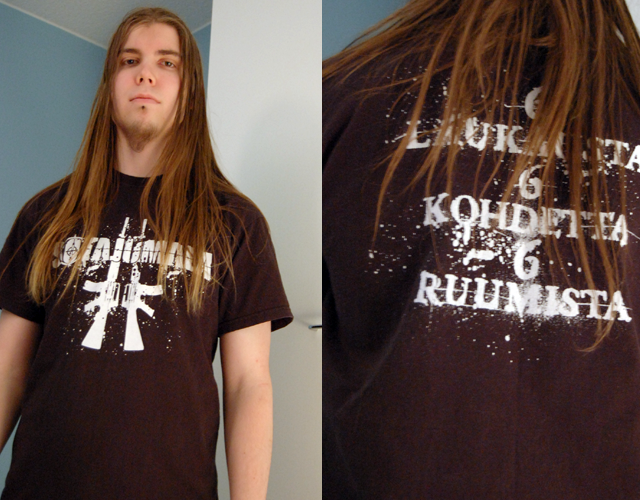 Sotajumalan T-paita