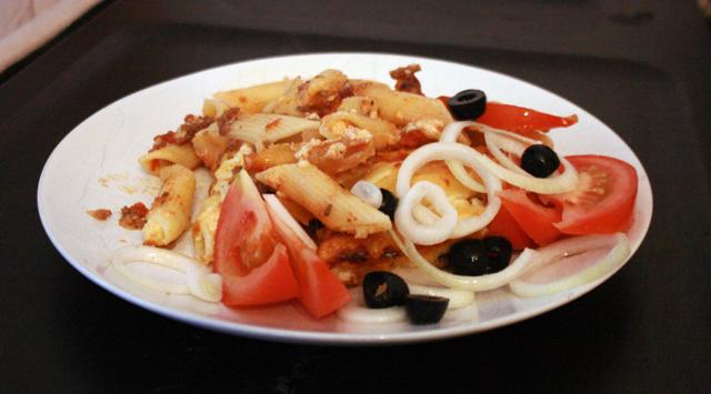 Kuva Pastitsio-ruokalautasesta